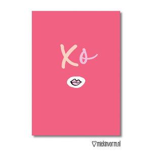 XO - Ansichtkaart