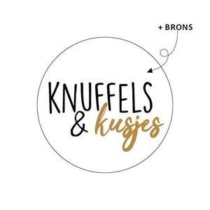 Knuffels & kusjes - Stickers - Set van 10