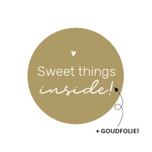 Sweet things inside - Stickers - Set van 10