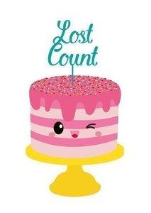 Lost count - Ansichtkaart