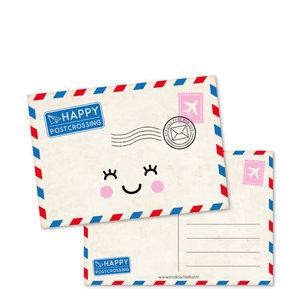 Happy Postcrossing - Ansichtkaart