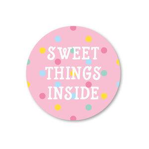 Sweet things inside - Stickers - Set van 5