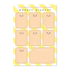 Cookie - Weekplanner A4