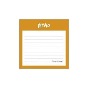 Mini Memo Oker - Notitieblokje