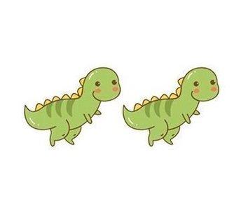 Dinosaurus Kawaii - Oorknoppen