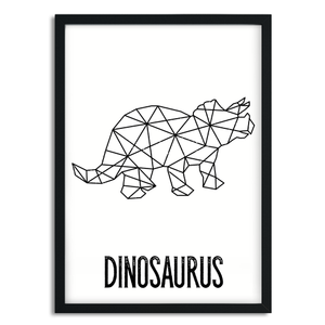 A5 poster - dinosaurus
