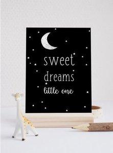 Sweet Dreams Little One - Ansichtkaart