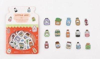 Potjes Eten Stickers 45 stuks