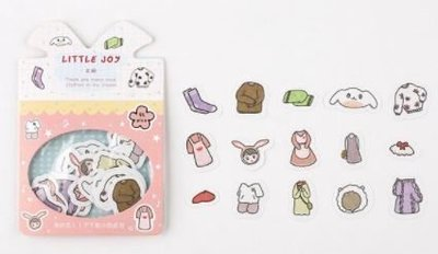 Kleding Stickers 45 stuks