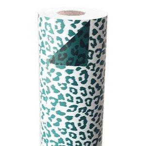 Cheetah Print Wild Green Dubbelzijdig - 100cm