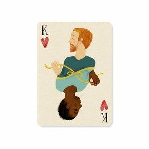 King of hearts - Ansichtkaart