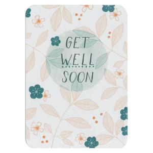 Get well soon - Ansichtkaart