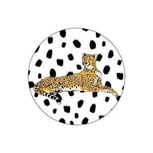 Jaguar Liggend - Stickers - Set van 10