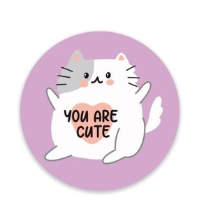 You Are Cute Kat - Stickers - Set van 5