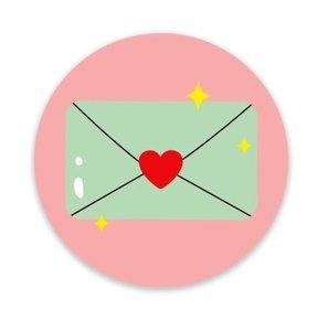 Envelop - Stickers - Set van 5