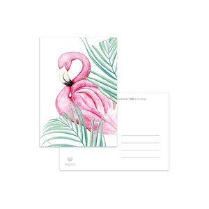 Flamingo Palm - Ansichtkaart