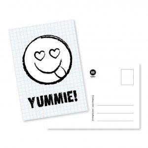 Yummie! - Ansichtkaart