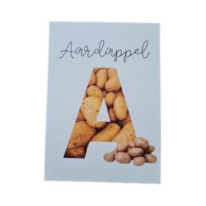 A van Aardappel - Ansichtkaart