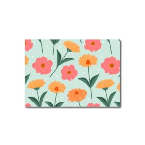 Bloemen Mint - Ansichtkaart