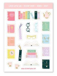 Boeken - Stickervel