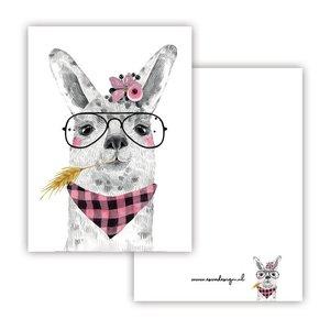 Lama Roze - Minikaart