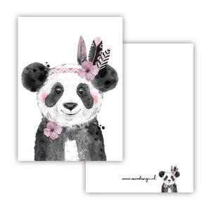 Panda Roze - Minikaart