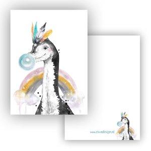 Langnek - Minikaart