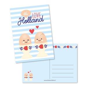 Ei love Holland - Ansichtkaart