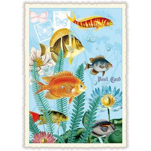 Vissen Klassiek - Ansichtkaart