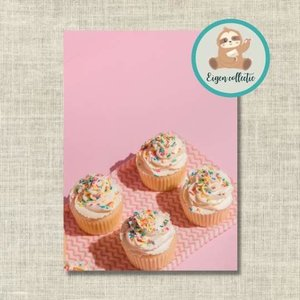 Cupcakes - Ansichtkaart