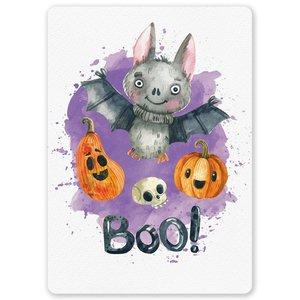 Halloween Vleermuis - Ansichtkaart