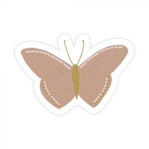 Vlinders Warmroze - Set van 10 Stickers