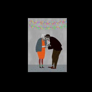 Voor altijd samen - Ansichtkaart