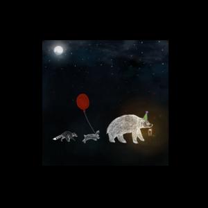 Nachtavontuur Optocht - Ansichtkaart Vierkant