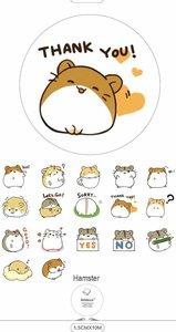 Washi Tape Masking Hamster Hammie Knaagdier Illustratie - 10M